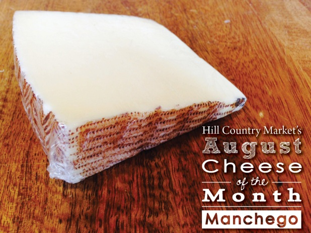 August cheese of the month
