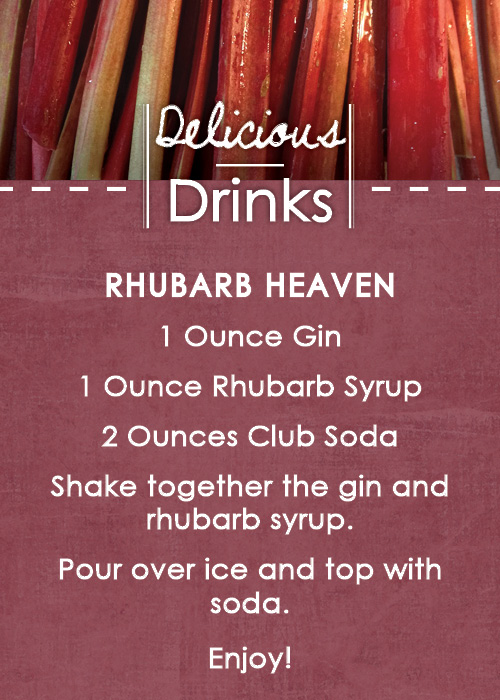 Drink Recipe Rhubarb