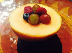 Mini-Melon Fruit Bowl