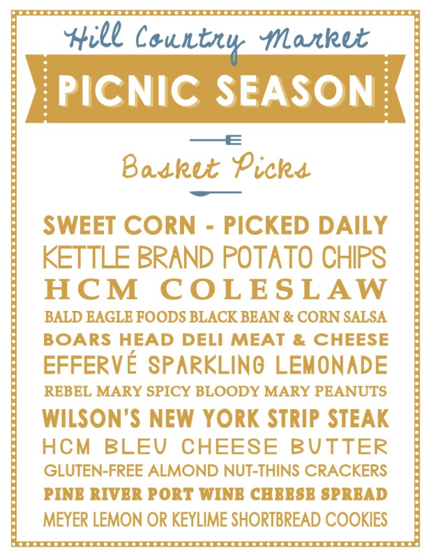 Picnic Season corn themed
