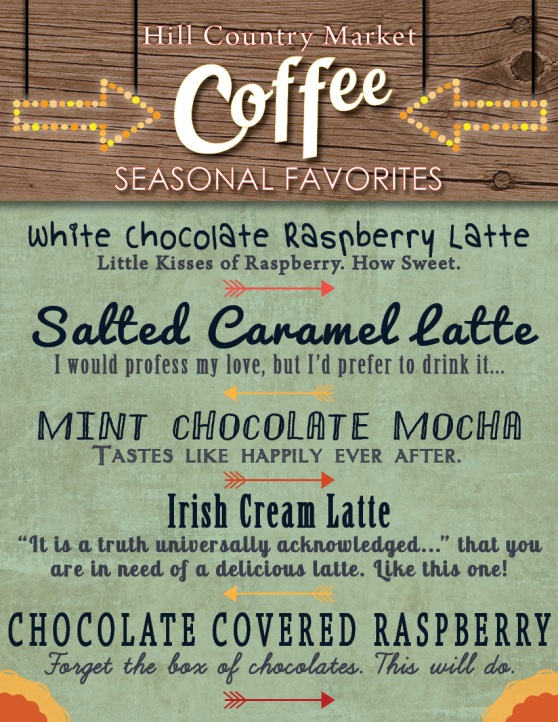 February Coffee Specials