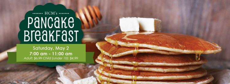 Pancake Breakfast Banner