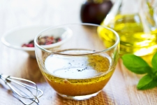 Homemade Wholegrain mustard vinaigrette by fresh ingredients