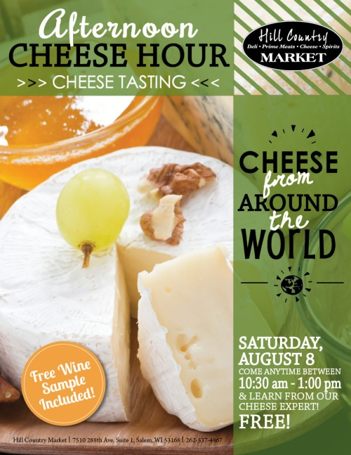 August cheese tasting evening